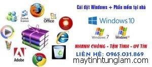 cai dat may tinh tai nha Van Giang