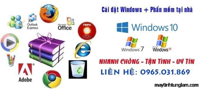 Sửa máy tính tại nhà Văn Giang