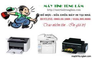 Đổ mực máy in tất cả các xã huyện Văn Giang