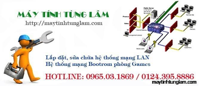 Thiết kế, thi công, sửa chữa hệ thống mạng LAN, WAN