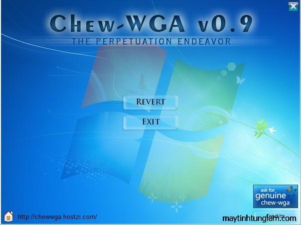 chew wga phần mềm crack window 7