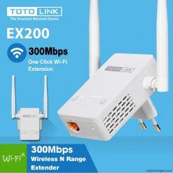 Kích sóng TOTOLINK EX200 2 anten siêu khỏe