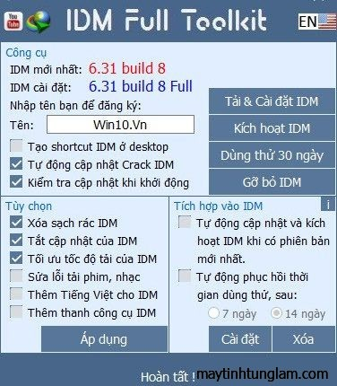 IDM Full Toolkit 3.8