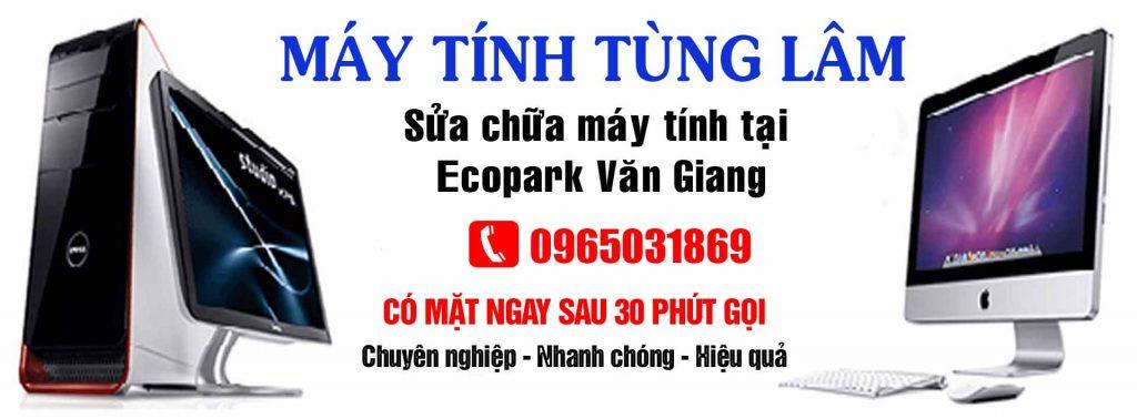 Sửa máy tính tại nhà Ecopark Văn Giang