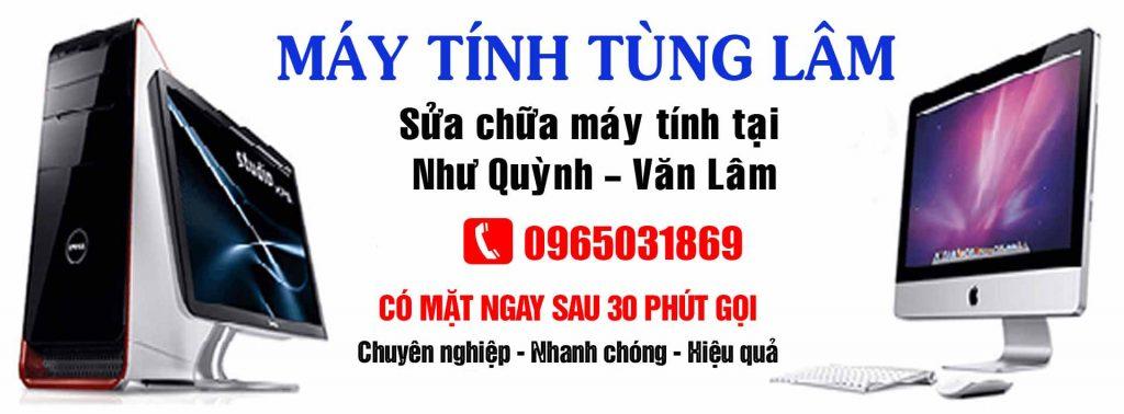 Sửa máy tính Như Quỳnh - Văn Lâm