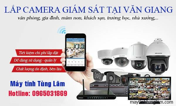 Lắp camera giám sát tại Văn Giang
