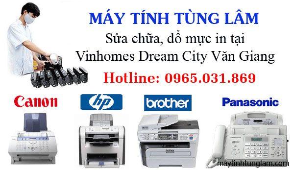 Đổ mực in tại Vinhomes Dream City Văn Giang